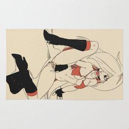 NSFW Hentai Slave Girl Rug