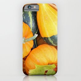 Basket full of Fall iPhone Case