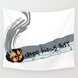 FLCL Never Knows Best Cig Wall Tapestry