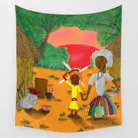 book cover Wall Tapestries featuring Kilalu book cover by Vincent Poe