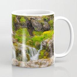 Waterfalls at Dynjandi, Iceland Coffee Mug