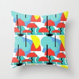 Postmodern Forrest Throw Pillow