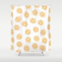 Kumquat Pattern Shower Curtain