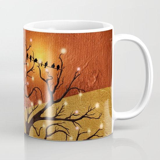 sunset and lights Mug