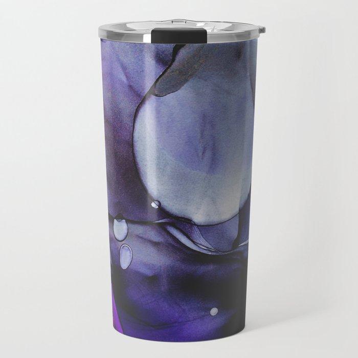 A Violet Gaze Travel Mug