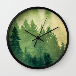 Nature Hike Wall Clock