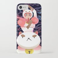 bee and puppycat iPhone & iPod Cases featuring Bee and Puppycat by Terry Blas