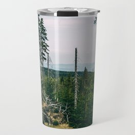 Evergreen Mountain Forest Travel Mug