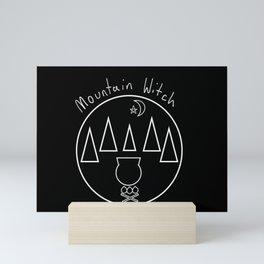Mountain Witch Mini Art Print