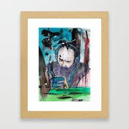 Underground Silence Framed Art Print