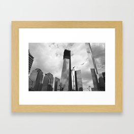 Memories of the World Trade Center Framed Art Print