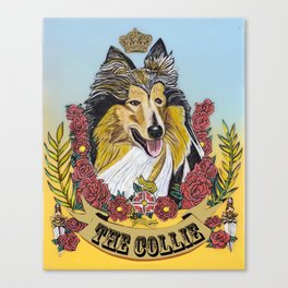 The Collie Canvas Print