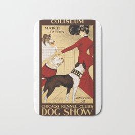 Chicago Kennel Club's Dog Show (1902) Bath Mat
