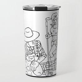 Garden Hoes Travel Mug