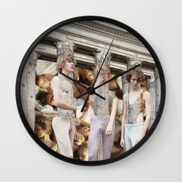 Building Parallels Wall Clock