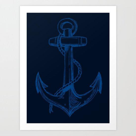 The Pirate's Anchor... Arrgh Matey VI Art Print