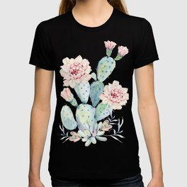 Prettiest Cactus Rose by Nature Magick T-shirt