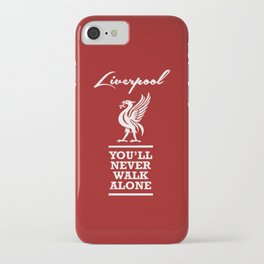 Slogan: Liverpool iPhone Case