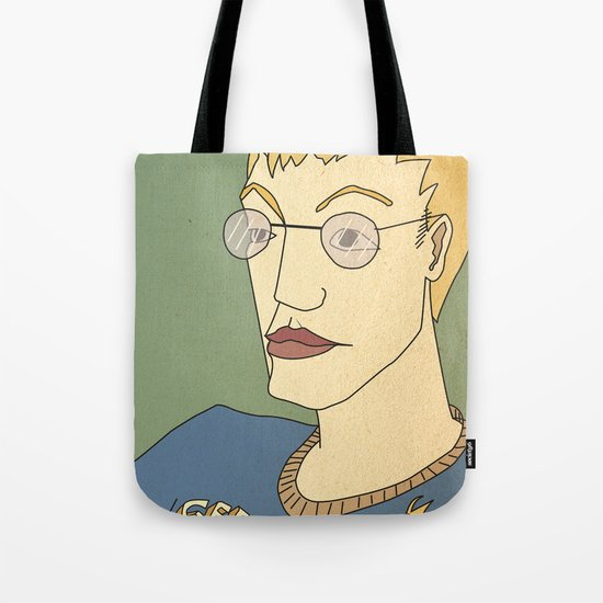 Geek culture / touch me, too Tote Bag