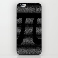 pi iPhone & iPod Skins featuring Pi by The Colour Wheel