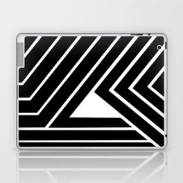 Modern Me Plain Black Laptop & iPad Skin