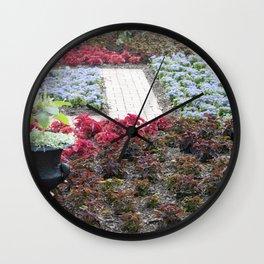 Longwood Gardens - Spring Series 127 Wall Clock