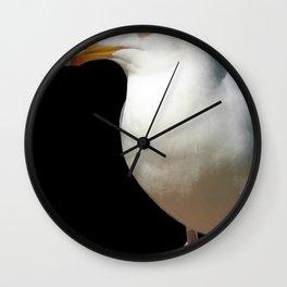 Dancing Seagull Wall Clock