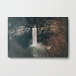 Falls Overlook - Taughannock Falls State Park Metal Print