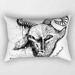 Baphomet Rectangular Pillow