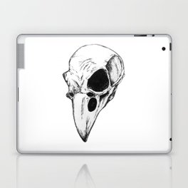 Raven skull Laptop & iPad Skin