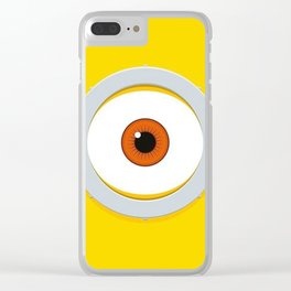 Minion Despicable Clear iPhone Case