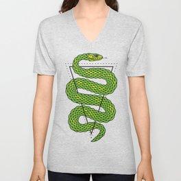 Viper snake Unisex V-Neck