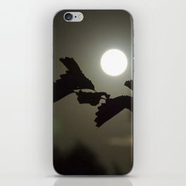By the light of the full moon iPhone Skin