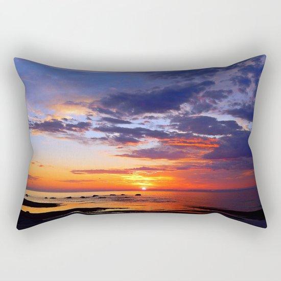 Between Sky and Earth Rectangular Pillow