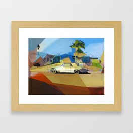 Simpson St. Framed Art Print