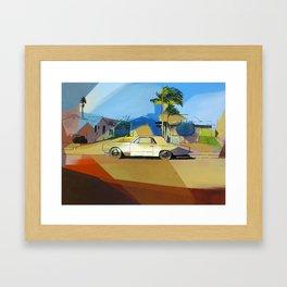 Simpson St. Framed Art Print