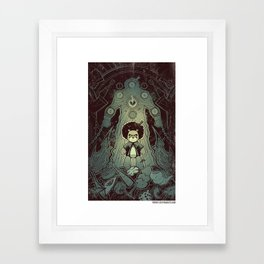 "x-clusive spoiler from issue#4 - Fresco ""The way of Bo"" Framed Art Print"