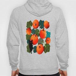 Pumpkins and Black Cats Hoody