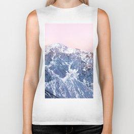 Rose Quarz and Serenity Mountains Biker Tank