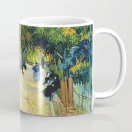 Vincent van Gogh - Entrance To The Public Gardens In Arle - Digital Remastered Edition Coffee Mug