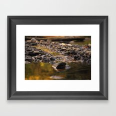 Little stream Framed Art Print