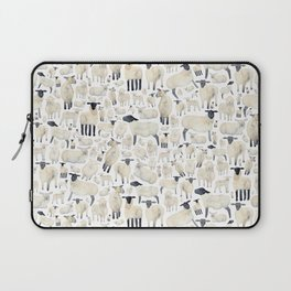 Watercolour Sheep Laptop Sleeve