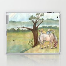 A Girl, A Pony and a Good Book Laptop & iPad Skin