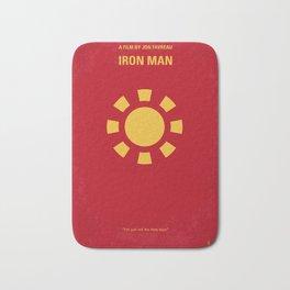 No113-1 My Iron 1 minimal movie poster Bath Mat