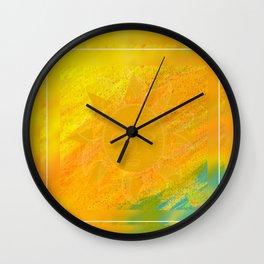 Simply Sunny  Wall Clock