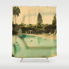 Summertime Sadness Shower Curtain