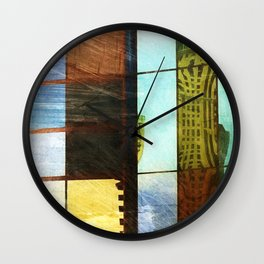 ALBaMass - Patched Perth Wall Clock