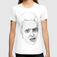 christopher walken T-shirts featuring Christopher Walken by Chuck Jackson