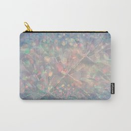 Sparkling Crystal Maze Abstract Carry-All Pouch