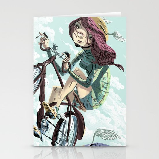 Bikes Not Bombs Stationery Cards